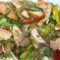 1002. Fried Rice with Vegetables and Salmon